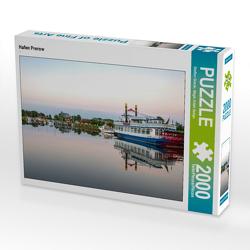 CALVENDO Puzzle Hafen Prerow 2000 Teile Lege-Größe 90 x 67 cm Foto-Puzzle Bild von Steffen Gierok