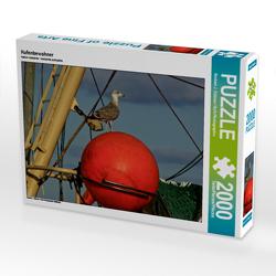 CALVENDO Puzzle Hafenbewohner 2000 Teile Lege-Größe 90 x 67 cm Foto-Puzzle Bild von Norbert J. Sülzner / NJS-Photographie