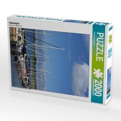 CALVENDO Puzzle Hafenidylle 2000 Teile Lege-Größe 67 x 90 cm Foto-Puzzle Bild von Susanne Herppich