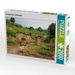 CALVENDO Puzzle Handgemachte Lehmziegeln 2000 Teile Lege-Größe 90 x 67 cm Foto-Puzzle Bild von Flori0