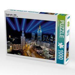 CALVENDO Puzzle Hauptwache – 2008 1000 Teile Lege-Größe 64 x 48 cm Foto-Puzzle Bild von Claus Eckerlin von Eckerlin,  Claus