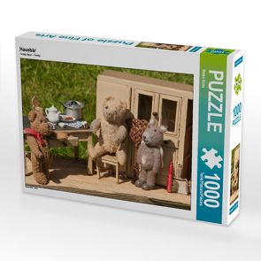 CALVENDO Puzzle Hausbär 1000 Teile Lege-Größe 64 x 48 cm Foto-Puzzle Bild von Meike Bölts