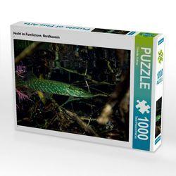 CALVENDO Puzzle Hecht im Forellensee, Nordhausen 1000 Teile Lege-Größe 64 x 48 cm Foto-Puzzle Bild von Christian Suttrop von Suttrop,  Christian