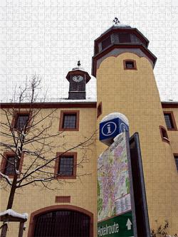 CALVENDO Puzzle Historisches Rathaus 2000 Teile Lege-Größe 67 x 90 cm Foto-Puzzle Bild von E. Ehmke