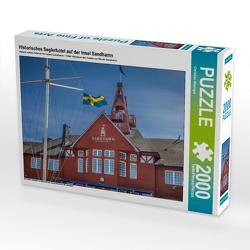 CALVENDO Puzzle Historisches Seglerhotel auf der Insel Sandhamn 2000 Teile Lege-Größe 90 x 67 cm Foto-Puzzle Bild von Christian Müringer