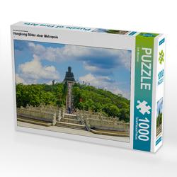 CALVENDO Puzzle Hongkong Bilder einer Metropole 1000 Teile Lege-Größe 64 x 48 cm Foto-Puzzle Bild von Dirk Meutzner