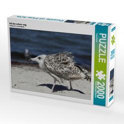 CALVENDO Puzzle Ich bin schon weg 2000 Teile Lege-Größe 90 x 67 cm Foto-Puzzle Bild von Tanja Riedel