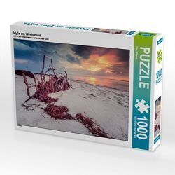 CALVENDO Puzzle Idylle am Weststrand 1000 Teile Lege-Größe 64 x 48 cm Foto-Puzzle Bild von Dirk Wiemer von Wiemer,  Dirk