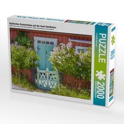 CALVENDO Puzzle Idyllisches Sommerhaus auf der Insel Sandhamn 2000 Teile Lege-Größe 90 x 67 cm Foto-Puzzle Bild von Christian Müringer