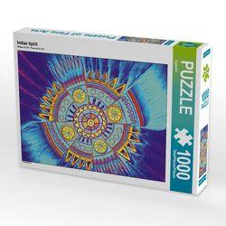 CALVENDO Puzzle Indian Spirit 1000 Teile Lege-Größe 64 x 48 cm Foto-Puzzle Bild von EigenArt