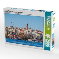 CALVENDO Puzzle Istanbul – die Stadt zwischen zwei Welten 2000 Teile Lege-Größe 90 x 67 cm Foto-Puzzle Bild von Christian Müller