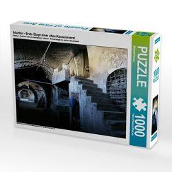 CALVENDO Puzzle Istanbul – Erste Etage einer alten Karawanserei 1000 Teile Lege-Größe 64 x 48 cm Foto-Puzzle Bild von Michael Herzog