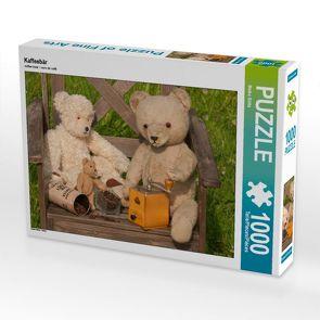 CALVENDO Puzzle Kaffeebär 1000 Teile Lege-Größe 64 x 48 cm Foto-Puzzle Bild von Meike Bölts