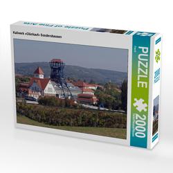 CALVENDO Puzzle Kaliwerk »Glückauf« Sondershausen 2000 Teile Lege-Größe 90 x 67 cm Foto-Puzzle Bild von Flori0