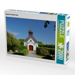CALVENDO Puzzle Kapelle Friedhof Holm 2000 Teile Lege-Größe 90 x 67 cm Foto-Puzzle Bild von Steffani Lehmann