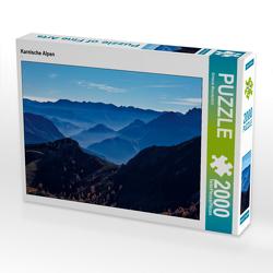 CALVENDO Puzzle Karnische Alpen 2000 Teile Lege-Größe 90 x 67 cm Foto-Puzzle Bild von Simone Wunderlich
