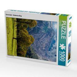 CALVENDO Puzzle Karwendel – Hinterriss-Eng 1000 Teile Lege-Größe 48 x 64 cm Foto-Puzzle Bild von Horst Eisele von Eisele,  Horst