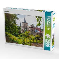 CALVENDO Puzzle Kientzheim 2000 Teile Lege-Größe 90 x 67 cm Foto-Puzzle Bild von Jürgen Feuerer