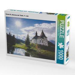 CALVENDO Puzzle Kirche St. Johannes der Täufer, 11. Jhd. 1000 Teile Lege-Größe 64 x 48 cm Foto-Puzzle Bild von Susanne Stark Sugarsweet – Photo von Stark Sugarsweet - Photo,  Susanne