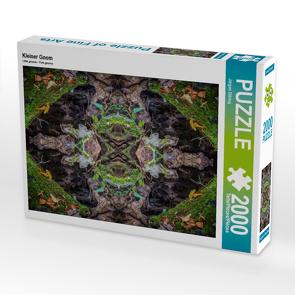 CALVENDO Puzzle Kleiner Gnom 2000 Teile Lege-Größe 90 x 67 cm Foto-Puzzle Bild von Jürgen Döring