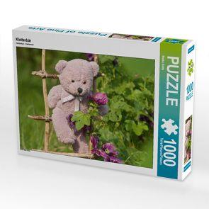CALVENDO Puzzle Kletterbär 1000 Teile Lege-Größe 64 x 48 cm Foto-Puzzle Bild von Meike Bölts