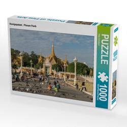 CALVENDO Puzzle Königspalast , Phnom Penh 1000 Teile Lege-Größe 64 x 48 cm Foto-Puzzle Bild von Peter Schickert