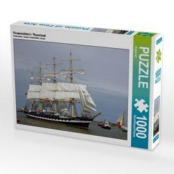 CALVENDO Puzzle Kruzenshtern / Russland 1000 Teile Lege-Größe 64 x 48 cm Foto-Puzzle Bild von Stoerti-md von Stoerti-md,  k.A.
