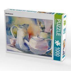 CALVENDO Puzzle Künstlerpause 1000 Teile Lege-Größe 64 x 48 cm Foto-Puzzle Bild von Jitka Krause von Krause,  Jitka
