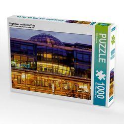 CALVENDO Puzzle Kugelhaus am Wiener Platz 1000 Teile Lege-Größe 64 x 48 cm Foto-Puzzle Bild von Dirk Meutzner von Meutzner,  Dirk