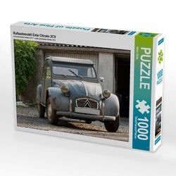 CALVENDO Puzzle Kultautomobil Ente Citroën 2CV 1000 Teile Lege-Größe 64 x 48 cm Foto-Puzzle Bild von Meike Bölts