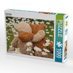 CALVENDO Puzzle Kuschelbär 1000 Teile Lege-Größe 64 x 48 cm Foto-Puzzle Bild von Meike Bölts