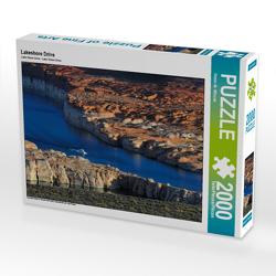 CALVENDO Puzzle Lakeshore Drive 2000 Teile Lege-Größe 90 x 67 cm Foto-Puzzle Bild von Dieter-M. Wilczek