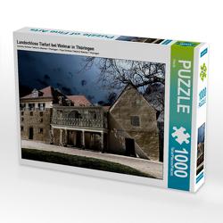 CALVENDO Puzzle Landschloss Tiefurt bei Weimar in Thüringen 1000 Teile Lege-Größe 64 x 48 cm Foto-Puzzle Bild von Flori0