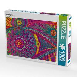 CALVENDO Puzzle Lebendigkeit 1000 Teile Lege-Größe 64 x 48 cm Foto-Puzzle Bild von EigenArt