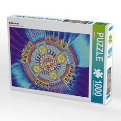 CALVENDO Puzzle Lebensrad 1000 Teile Lege-Größe 64 x 48 cm Foto-Puzzle Bild von EigenART