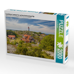 CALVENDO Puzzle Leuchtturm Landsort Fyr auf der Schäreninsel Öja 2000 Teile Lege-Größe 90 x 67 cm Foto-Puzzle Bild von Christian Müringer