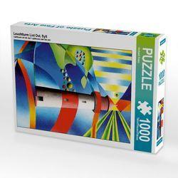CALVENDO Puzzle Leuchtturm List Ost, Sylt 1000 Teile Lege-Größe 48 x 64 cm Foto-Puzzle Bild von Gerhard Kraus von Kraus,  Gerhard