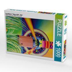 """CALVENDO Puzzle Leuchtturm """" Rotes Kliff """", Sylt 1000 Teile Lege-Größe 48 x 64 cm Foto-Puzzle Bild von Gerhard Kraus von Kraus,  Gerhard"""