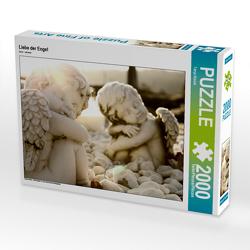 CALVENDO Puzzle Liebe der Engel 2000 Teile Lege-Größe 90 x 67 cm Foto-Puzzle Bild von Tanja Riedel