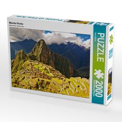 CALVENDO Puzzle Macchu Picchu 2000 Teile Lege-Größe 90 x 67 cm Foto-Puzzle Bild von Harry Müller