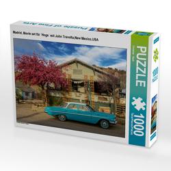 CALVENDO Puzzle Madrid, Movie set für `Hogs´ mit John Travolta,New Mexico,USA 1000 Teile Lege-Größe 64 x 48 cm Foto-Puzzle Bild von Christian Heeb