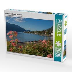 CALVENDO Puzzle Malerisches Seeufer Malcesine 2000 Teile Lege-Größe 90 x 67 cm Foto-Puzzle Bild von SusaZoom