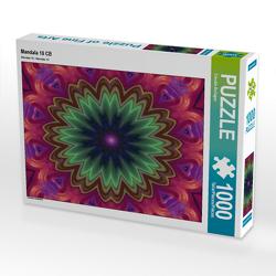 CALVENDO Puzzle Mandala 10 CB 1000 Teile Lege-Größe 64 x 48 cm Foto-Puzzle Bild von Claudia Burlager
