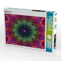 CALVENDO Puzzle Mandala 10 CB 2000 Teile Lege-Größe 90 x 67 cm Foto-Puzzle Bild von Claudia Burlager