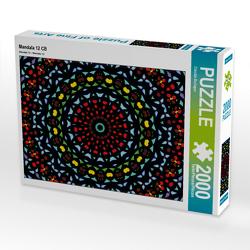 CALVENDO Puzzle Mandala 12 CB 2000 Teile Lege-Größe 90 x 67 cm Foto-Puzzle Bild von Claudia Burlager