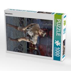CALVENDO Puzzle Mechanikerin 1000 Teile Lege-Größe 48 x 64 cm Foto-Puzzle Bild von KarstenSchröder