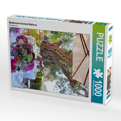 CALVENDO Puzzle Mediterrane Hochzeit Mallorca 1000 Teile Lege-Größe 48 x 64 cm Foto-Puzzle Bild von N N