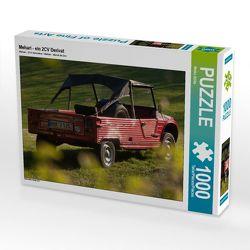 CALVENDO Puzzle Mehari – ein 2CV Derivat 1000 Teile Lege-Größe 64 x 48 cm Foto-Puzzle Bild von Meike Bölts