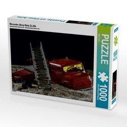 CALVENDO Puzzle Mercedes Benz Metz DL30h 1000 Teile Lege-Größe 64 x 48 cm Foto-Puzzle Bild von Ingo Laue von Laue,  Ingo