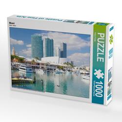 CALVENDO Puzzle Miami 1000 Teile Lege-Größe 64 x 48 cm Foto-Puzzle Bild von Klaus Feske